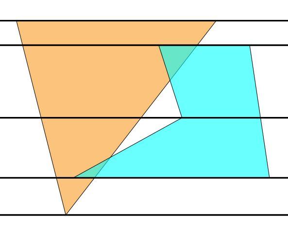 Снимок | Быстрый алгоритм нахождения дырок между полигонами