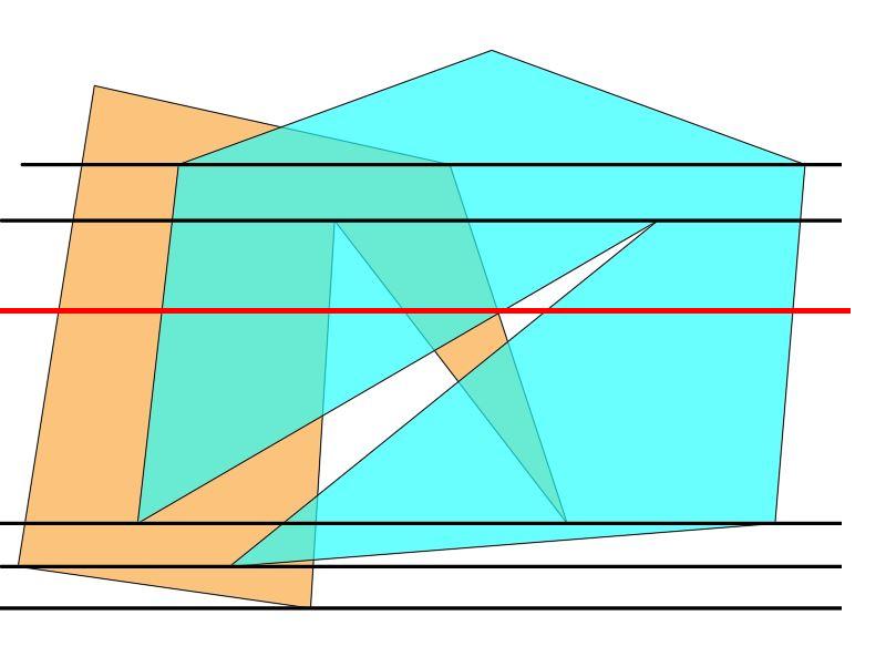 Безымянный | Быстрый алгоритм нахождения дырок между полигонами