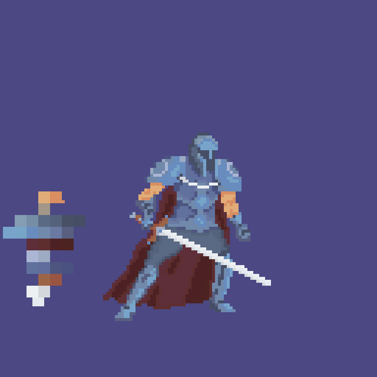 Knight-PixelArt   Pixel-Art Journey