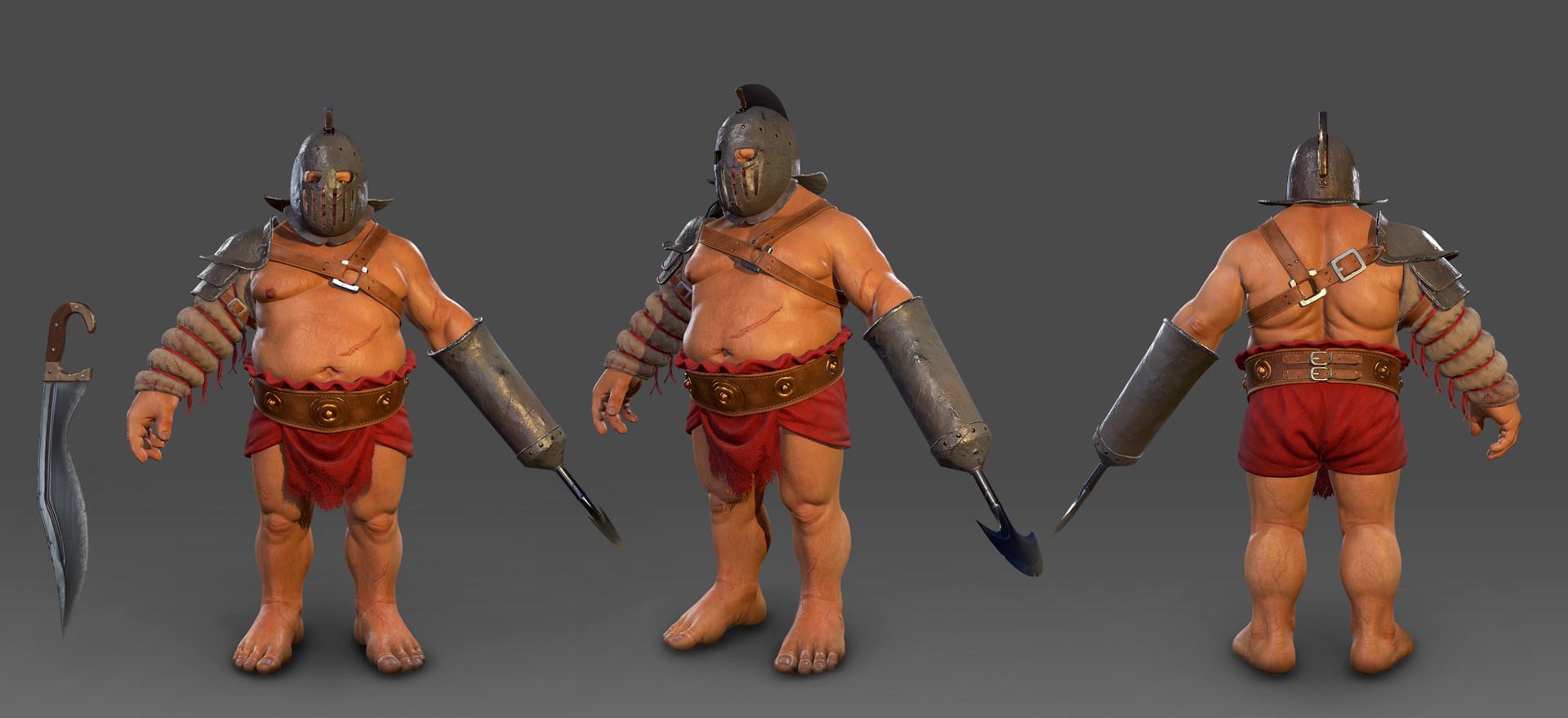 sergey-abanin-troll-gladiator-01 | 3d artist