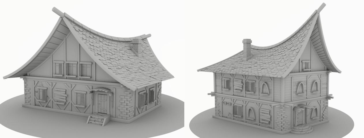 hh | Houdini technical artist / 3D modeller