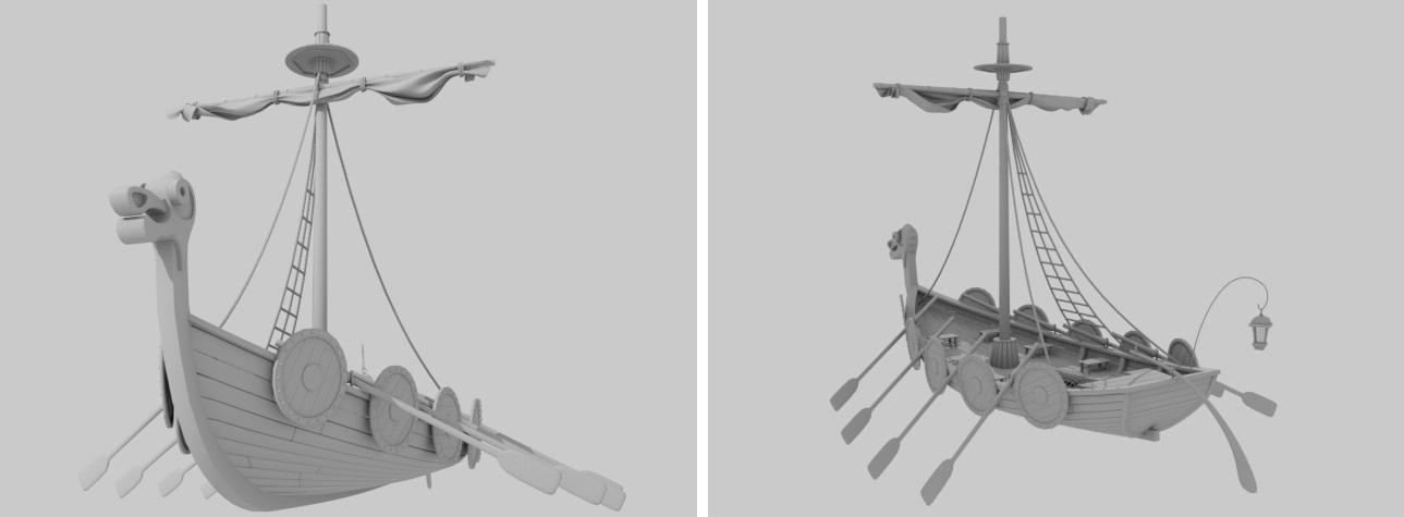 Boat | Houdini technical artist / 3D modeller