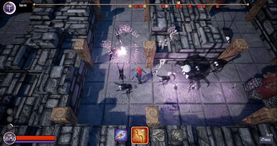 TotemScrin3 | [Конкурс: Храм Хаоса] Totem of spirits (Тотем духов)