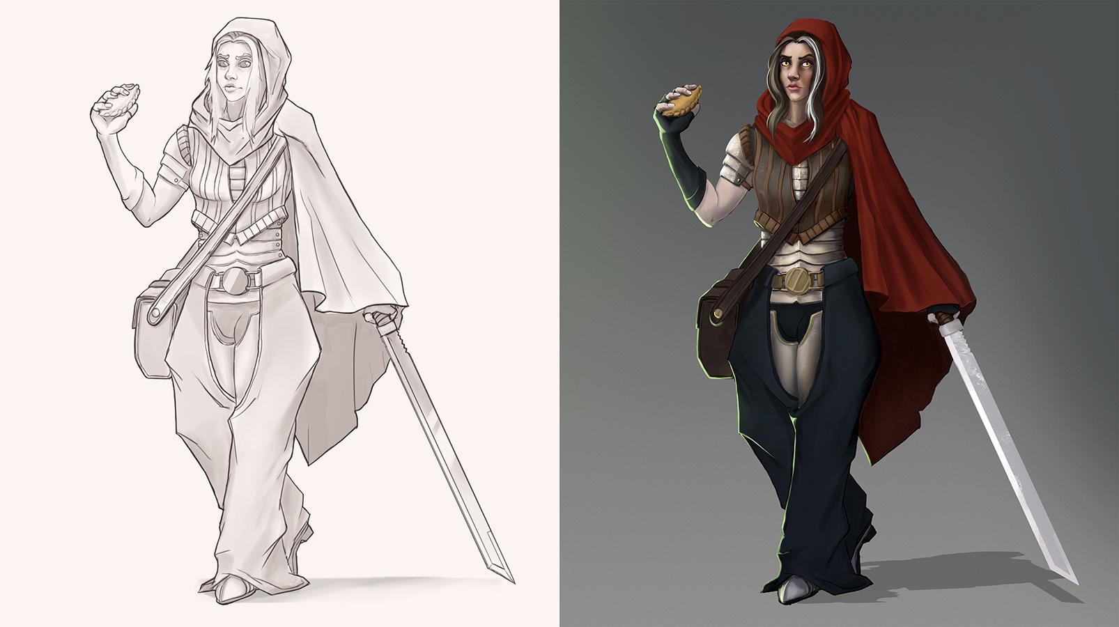 Red   Концепт-художник. Разные стили. 2D (в основном) + 3D