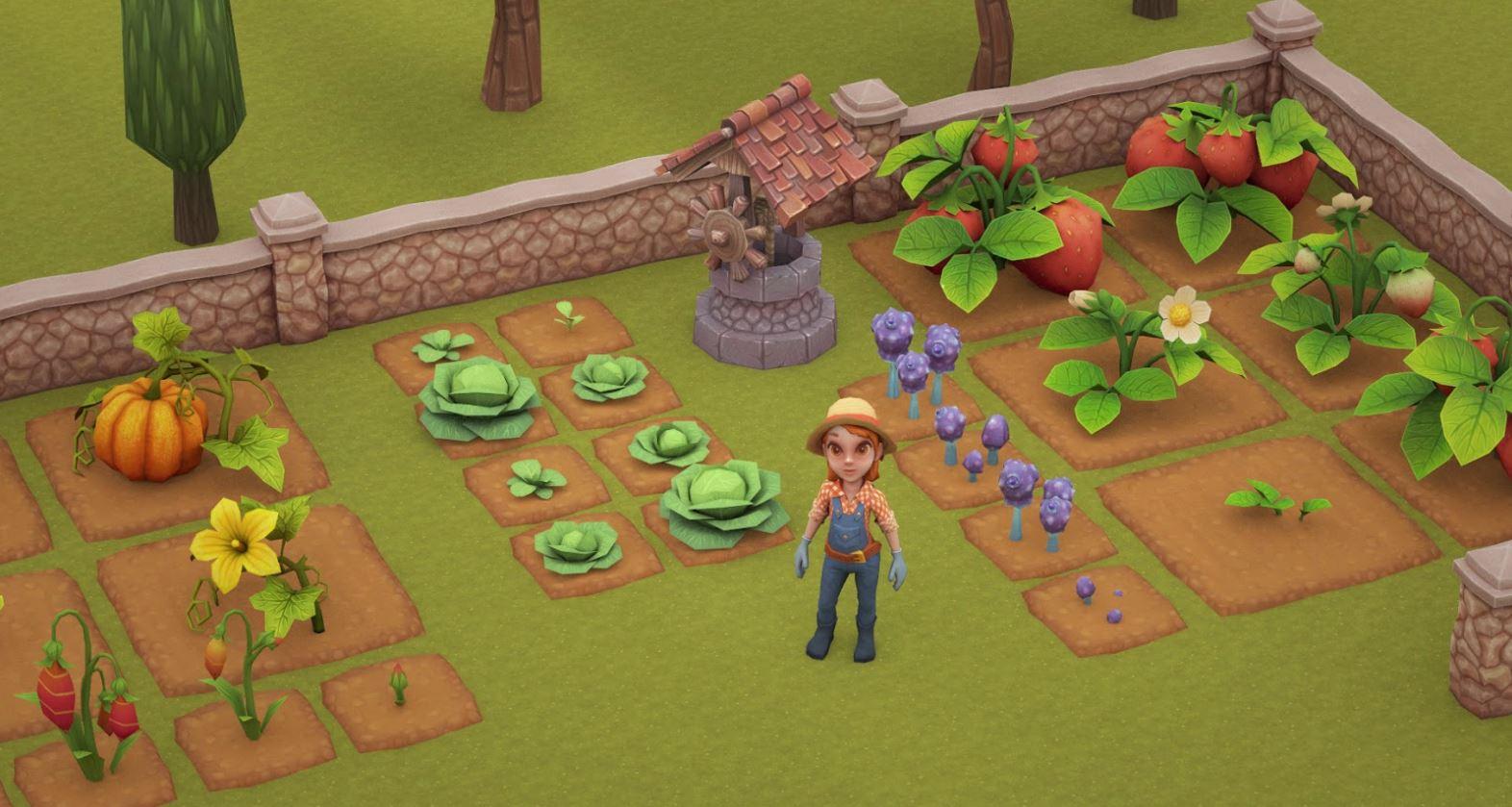 Снимок | Волшебники на ферме - не совсем обычная игра-ферма про не совсем обычных магов.