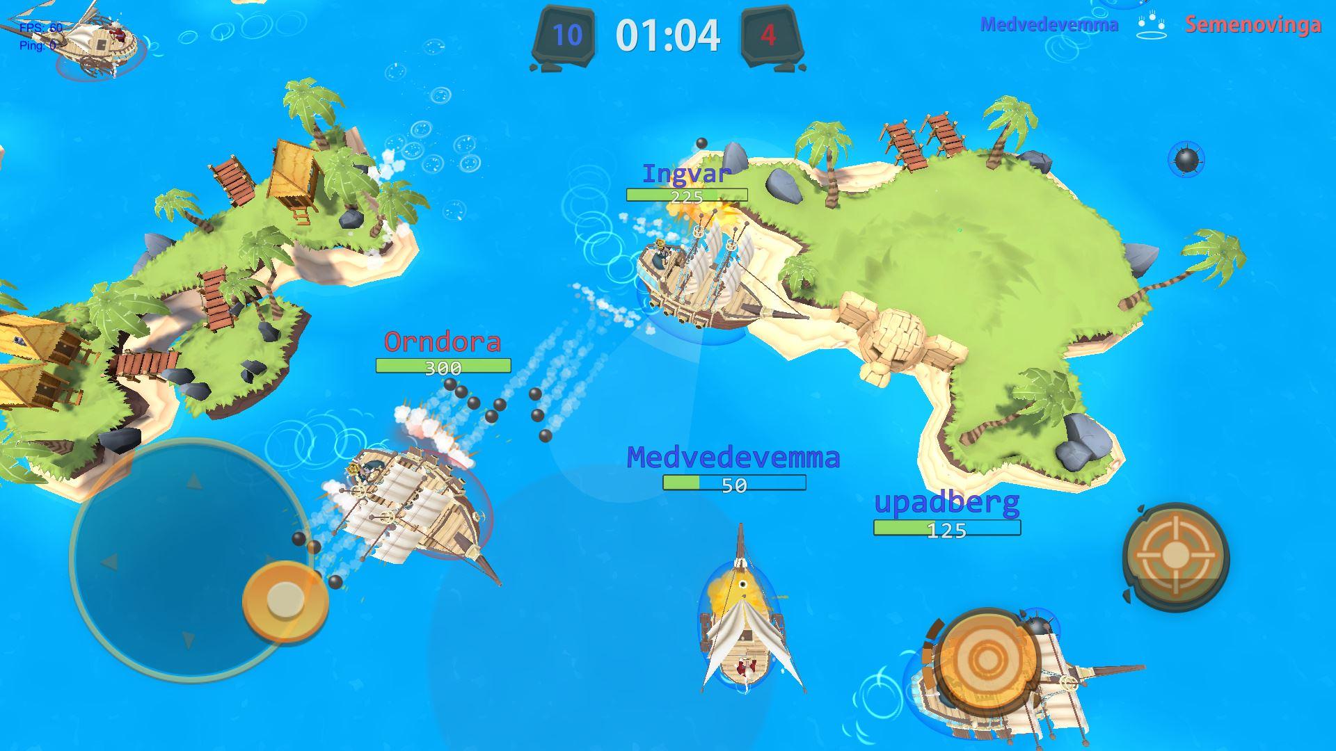 PieRatsOnline v0.7_Img1 | PieRats Online - динамичные онлайн бои в мультяшном сеттинге крыс-пиратов