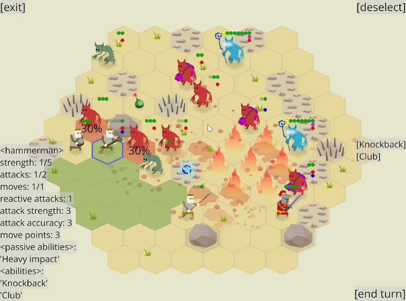 zemeroth_v0_5_gameplay_1 | Zemeroth - opensource 2D пошаговая тактика