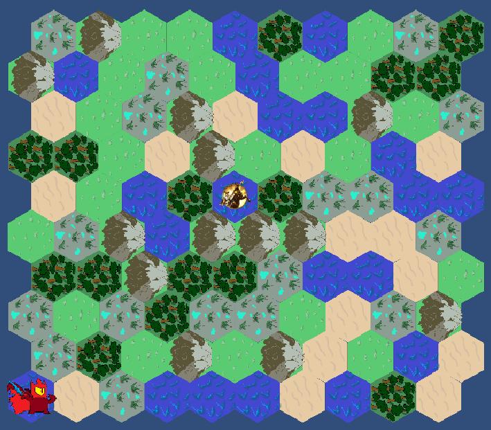 Прототип глобальной карты | Ищу энтузиастов. Пошаговая стратегия с карточным боем.