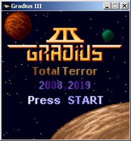 title | [2D] Gradius III Total Terror [Win]