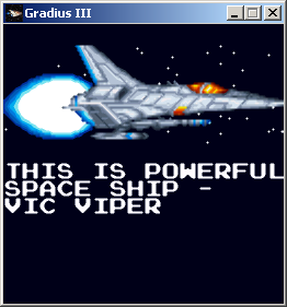 ship | [2D] Gradius III Total Terror [Win]