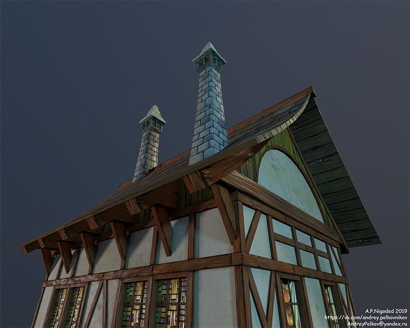 1   3d Environment, Props Artist. H\M\L poly. Classic, Tile, PBR. UV. Realistic\Casual, Render 2D.