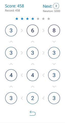 132   [Android 5.0 +][Puzzle] Newton's Challenge