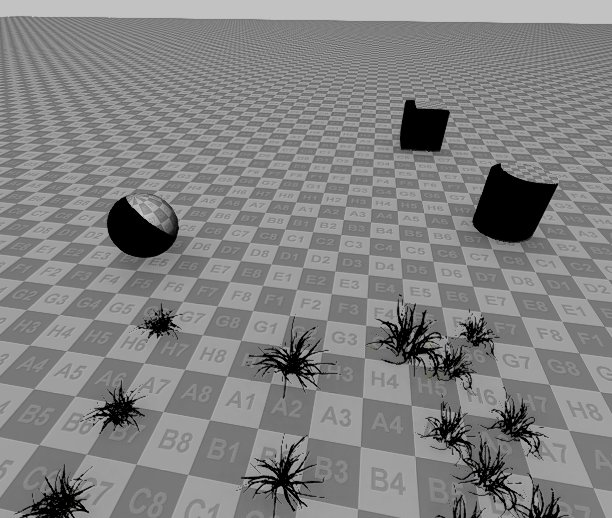 SS Shadows Test | Screen Space shadows, BGFX (DirectX, HLSL)