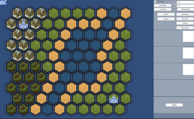 ПрототипРедактора карт | Ищу Unity-разработчика на инди-проект Magic, word & Sword