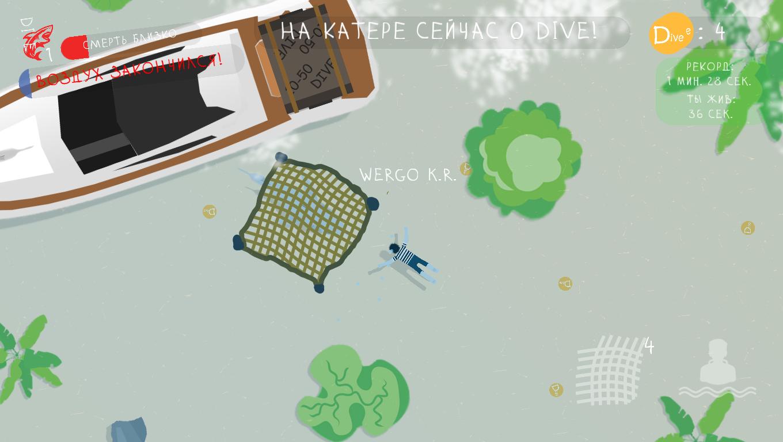 Скриншот игры DIVE 2 | DIVE: Жадность, страх, боль...