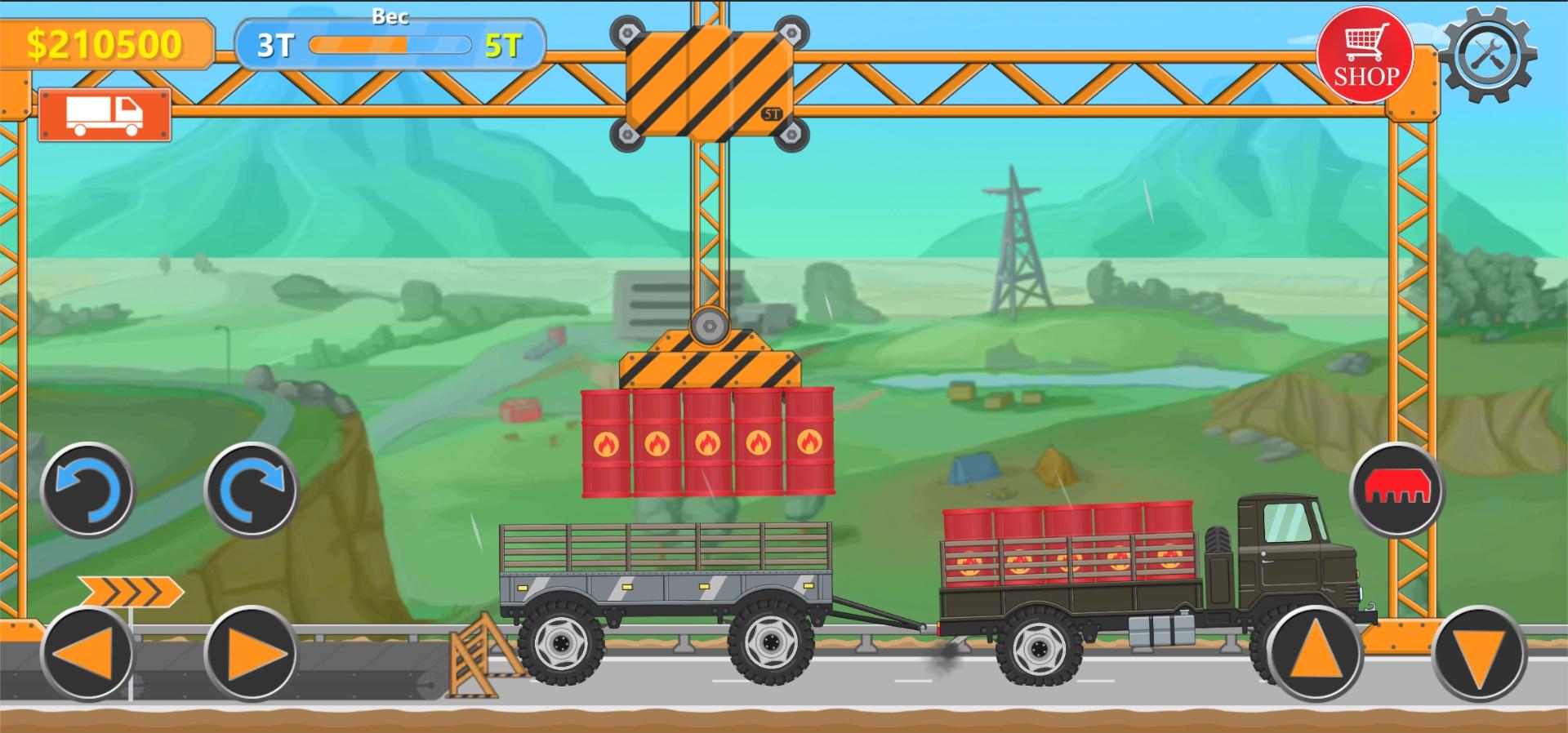 3 | Trucker Real Wheels - игра про грузоперевозки