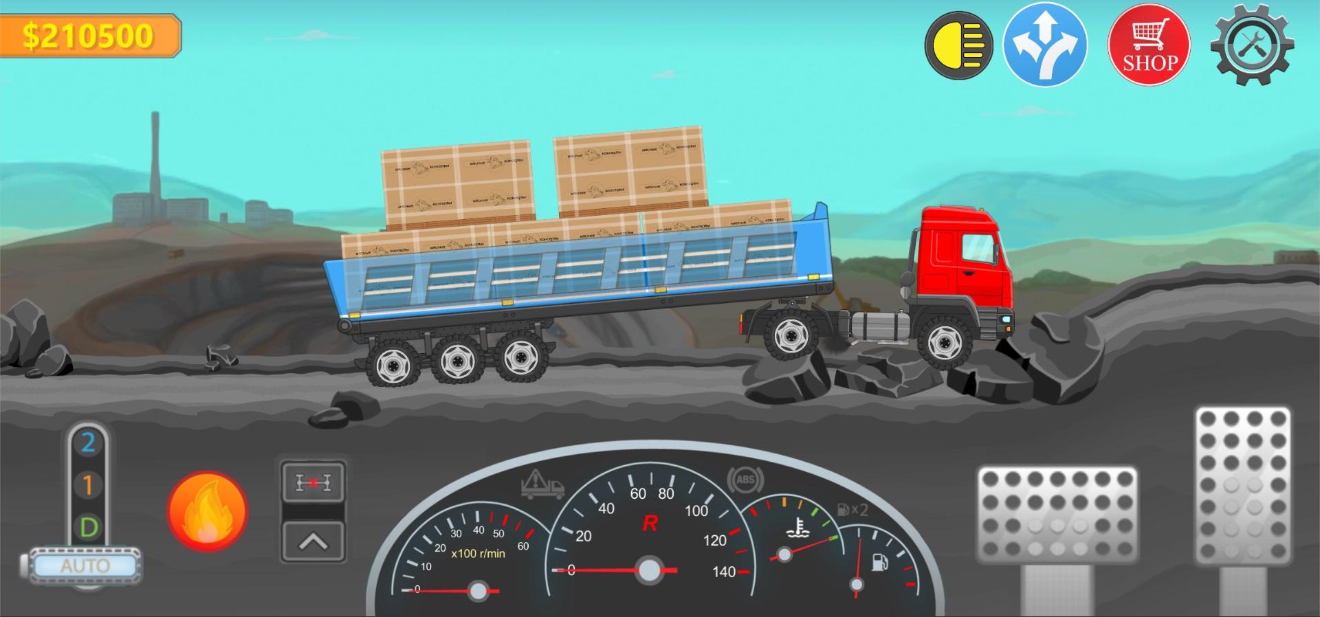 5 | Trucker Real Wheels - игра про грузоперевозки