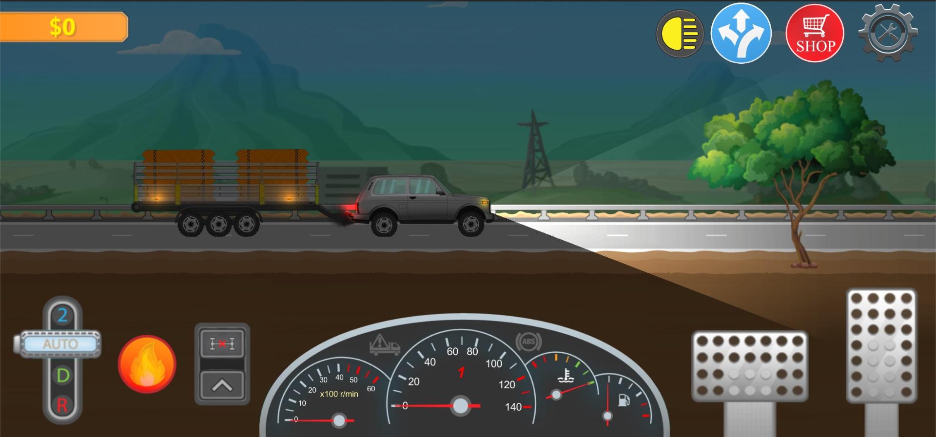 8 | Trucker Real Wheels - игра про грузоперевозки