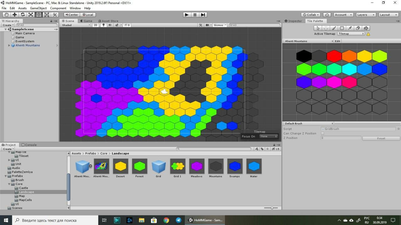 Редактор карт | Дизайнер интерфейсов на пошаговую стратегию с карточным боем (инди)