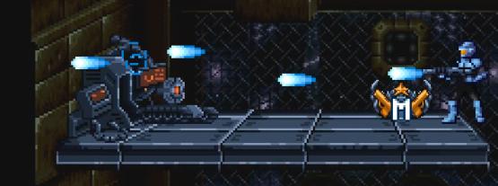 "tank | [Iron meat] Платформер в стиле ""Contra"" - Обновление 20.11.2019"