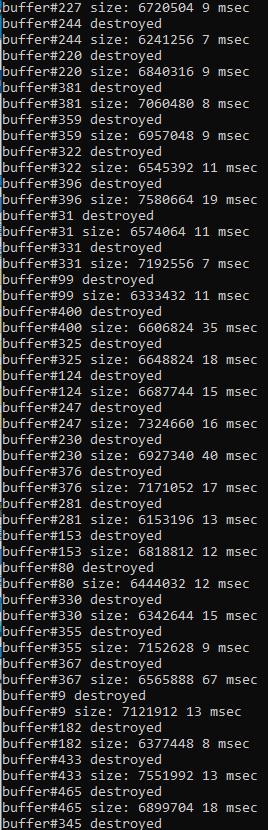 glBufferData задержки | Тормоза из-за glBufferData() (Решено.)