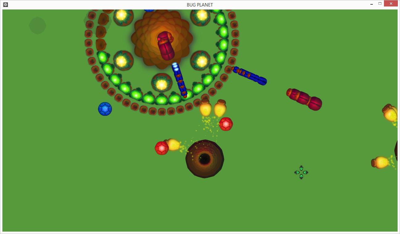 1   Bugs Planet (дневник разработки) [Есть конкурсный релиз]