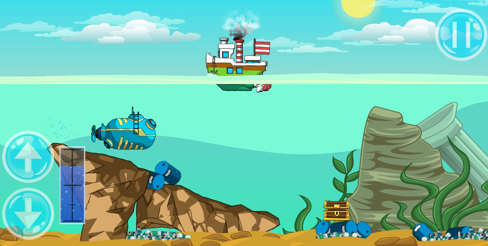 screen2 | Наш первый проект: Submarine adventure: Ballast [2D, Android]
