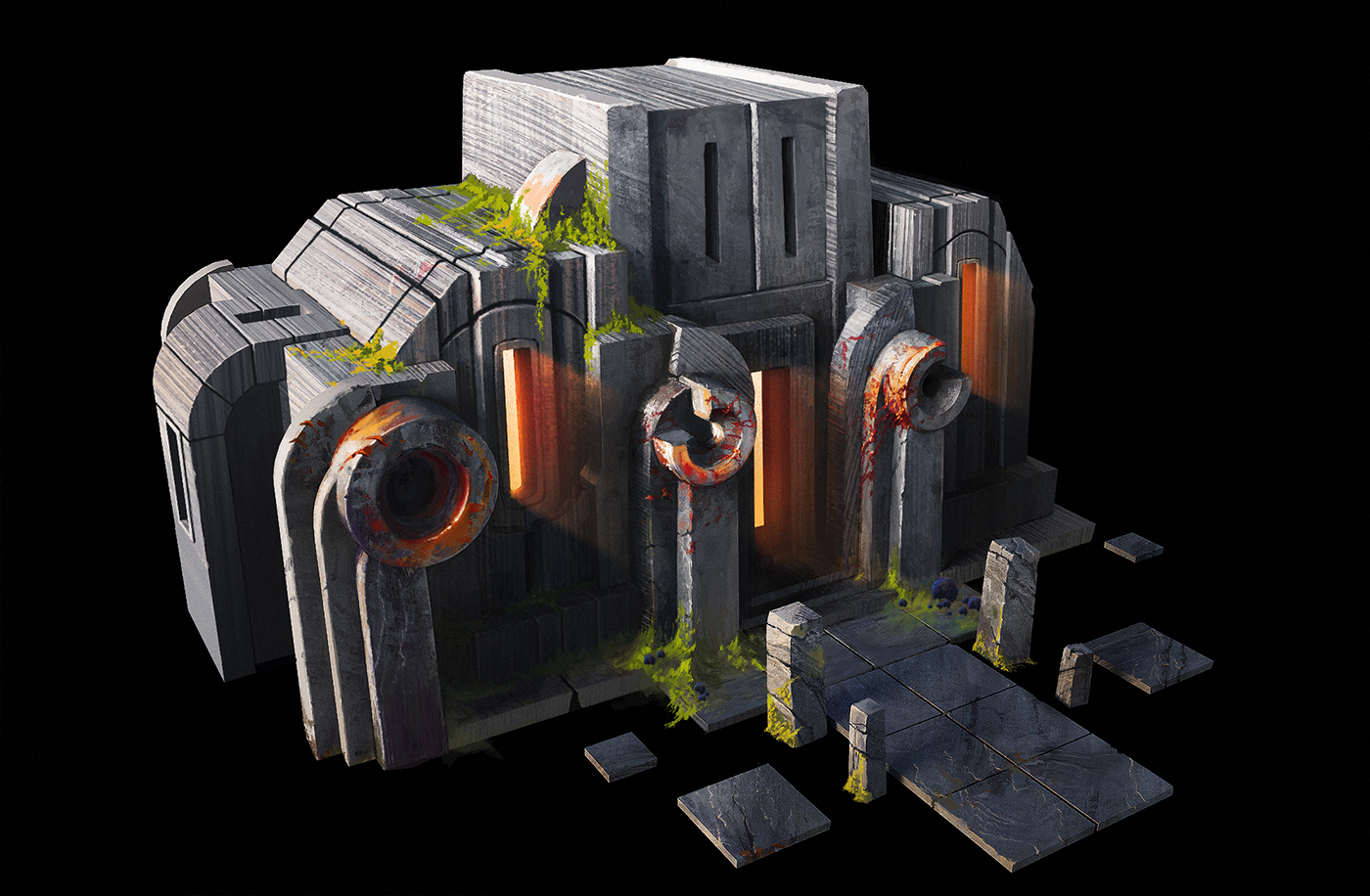 Art_03 | 🔥 2D/3D Environment Artist PRG/Action/RTS/Moba/Isometric