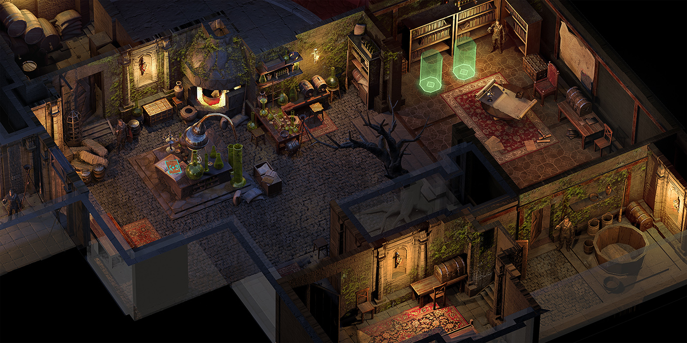 02 | 🔥 2D/3D Environment Artist PRG/Action/RTS/Moba/Isometric