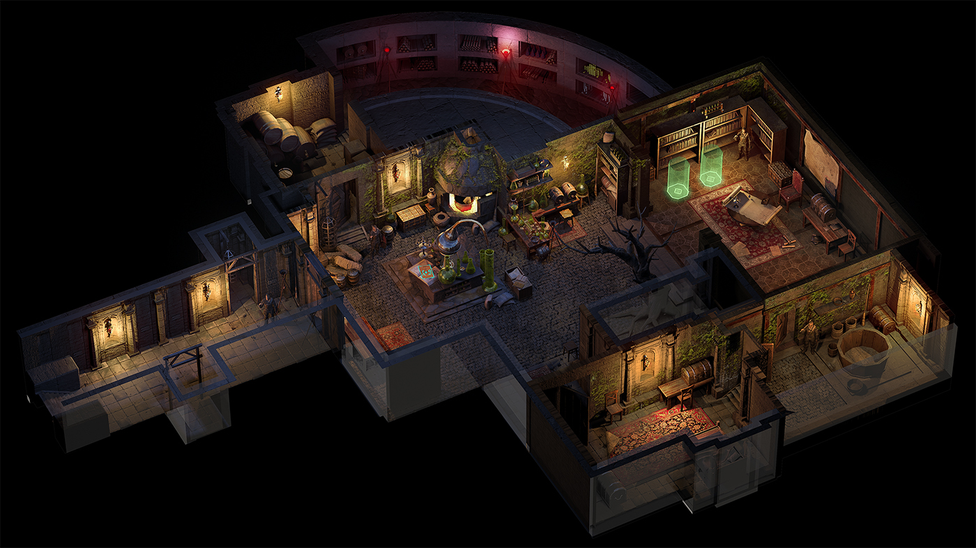 03 | 🔥 2D/3D Environment Artist PRG/Action/RTS/Moba/Isometric