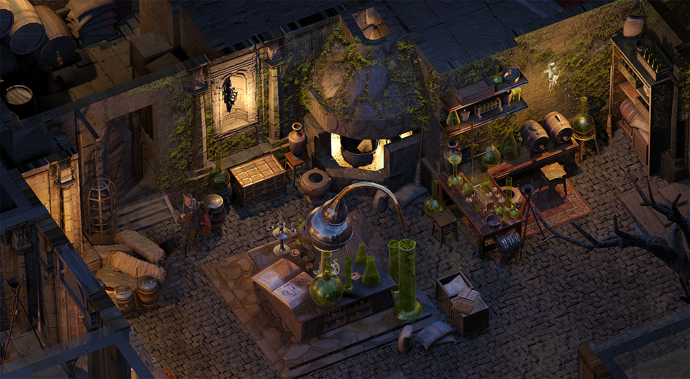 04 | 🔥 2D/3D Environment Artist PRG/Action/RTS/Moba/Isometric