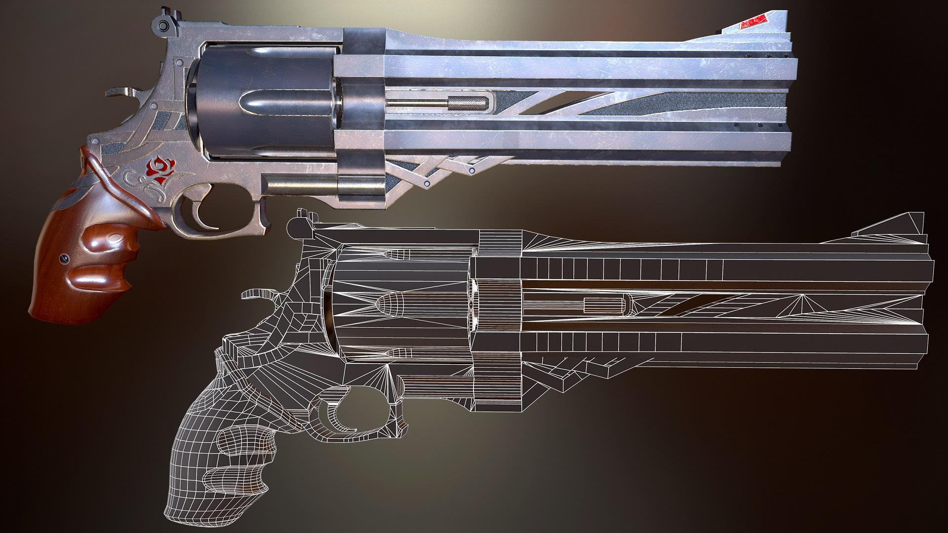 Револьвер1   3D Artist