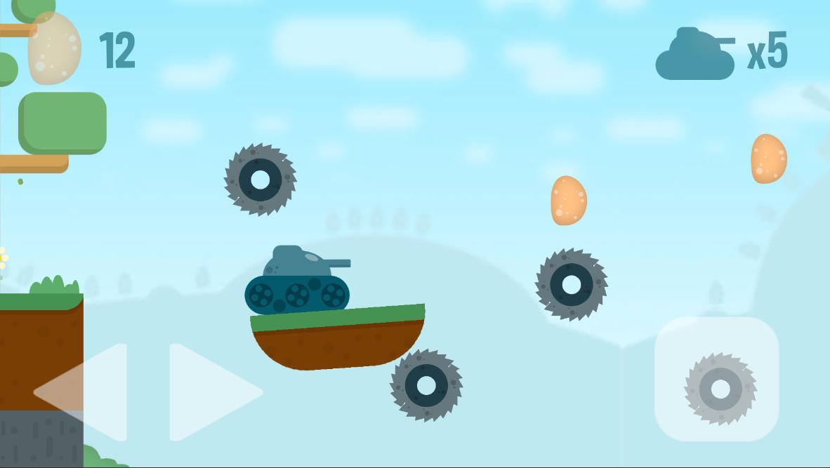 Screenshot_6 | Potatoes Tank - хадкорный платформер