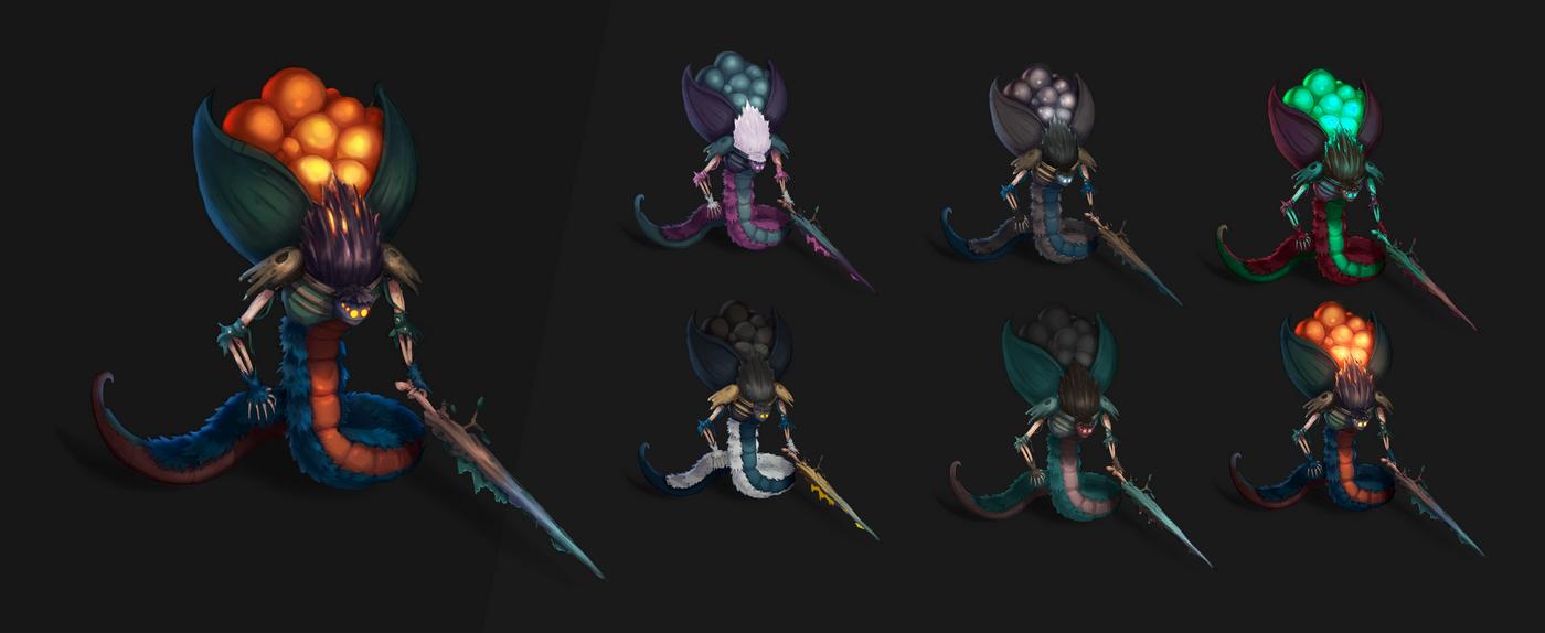 Концепт лесного стража | 2D-художник/Concept artist  (персонажи/оружие/пропсы)