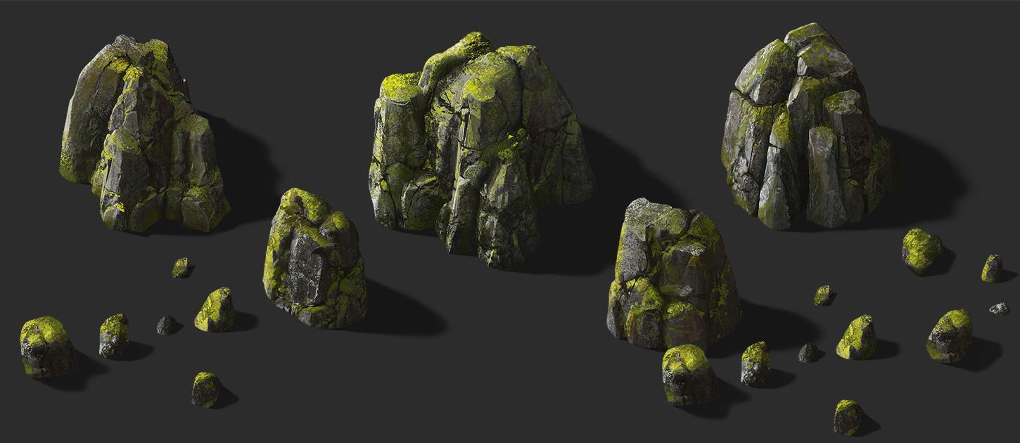 Rock_01_02 copy | ✏️2D/3D Environment Artist PRG/Action/RTS/Moba/Isometric