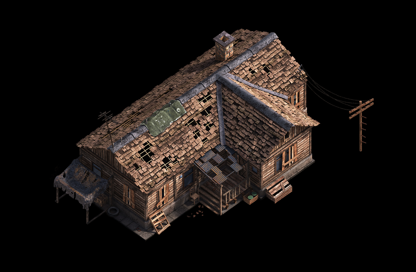 08 | ✏️2D/3D Environment Artist PRG/Action/RTS/Moba/Isometric