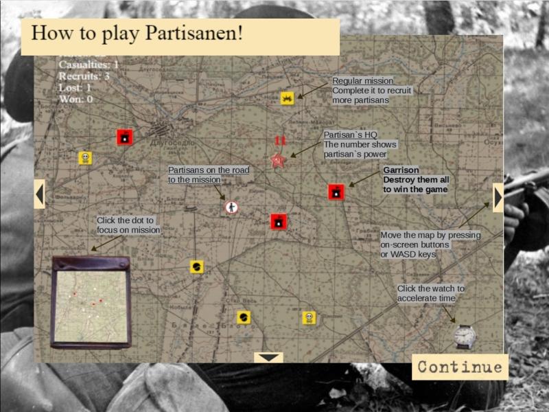 screen2 | Partisanen! - симулятор командира партизанского отряда