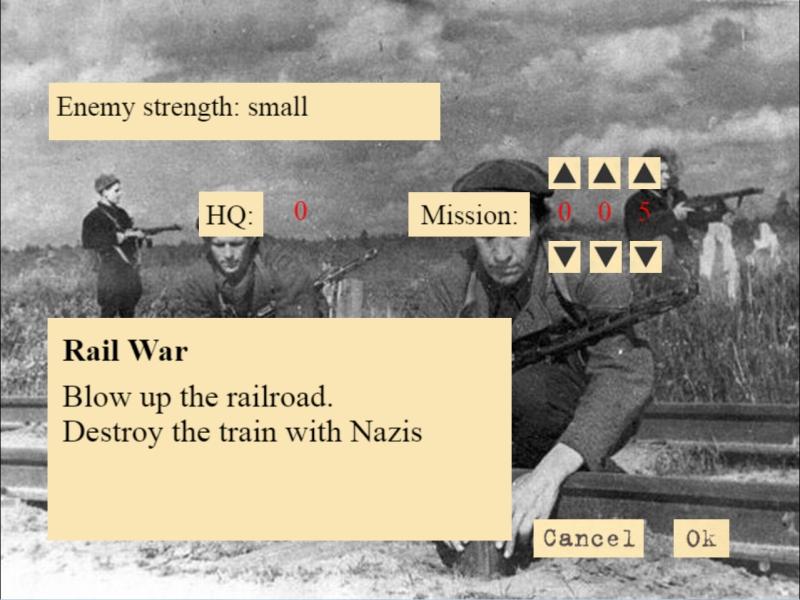 screen4 | Partisanen! - симулятор командира партизанского отряда