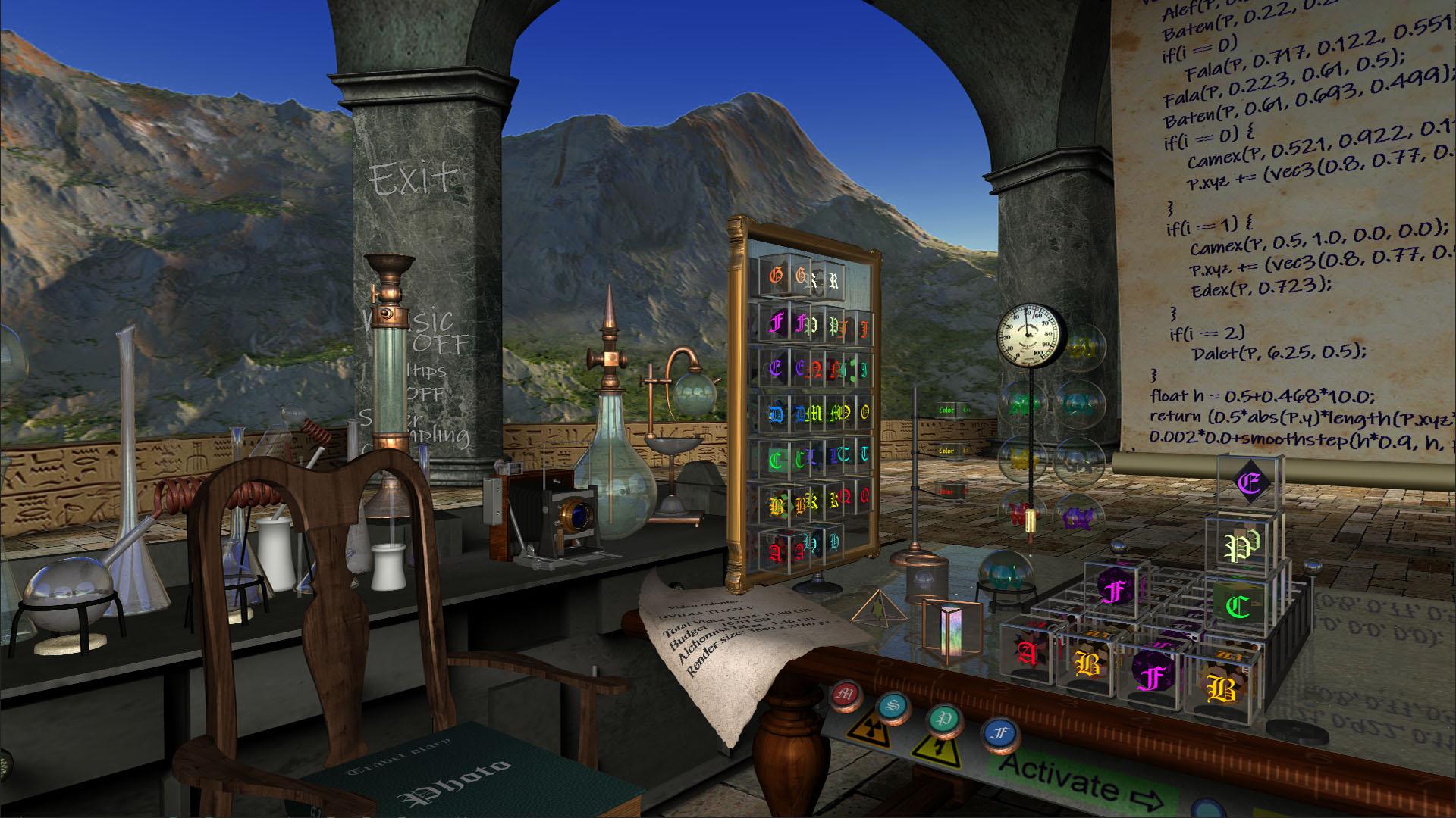 Fractal Alchemist | Разработка под VR