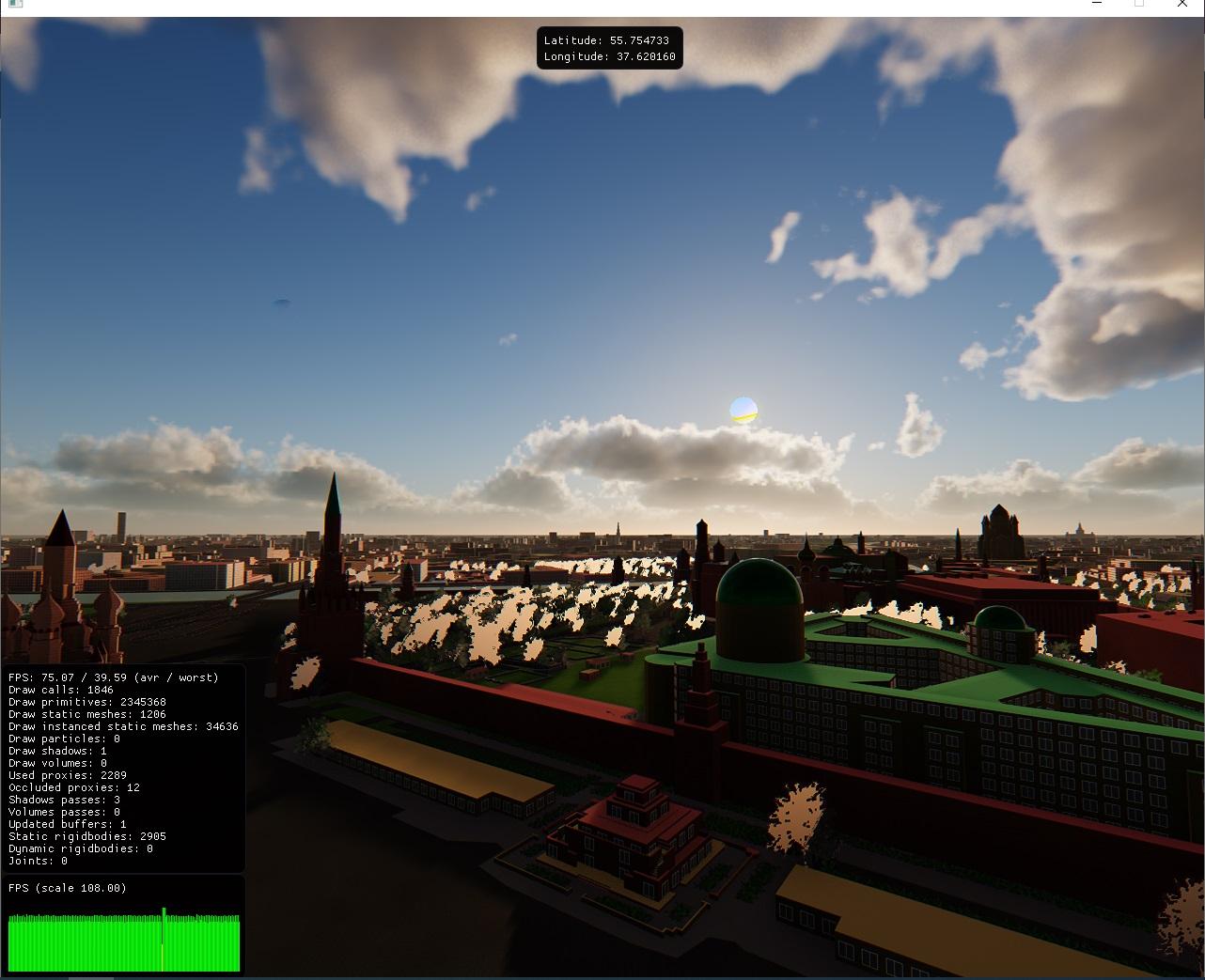 test_screen | Your city in 3d / Твой город в 3D
