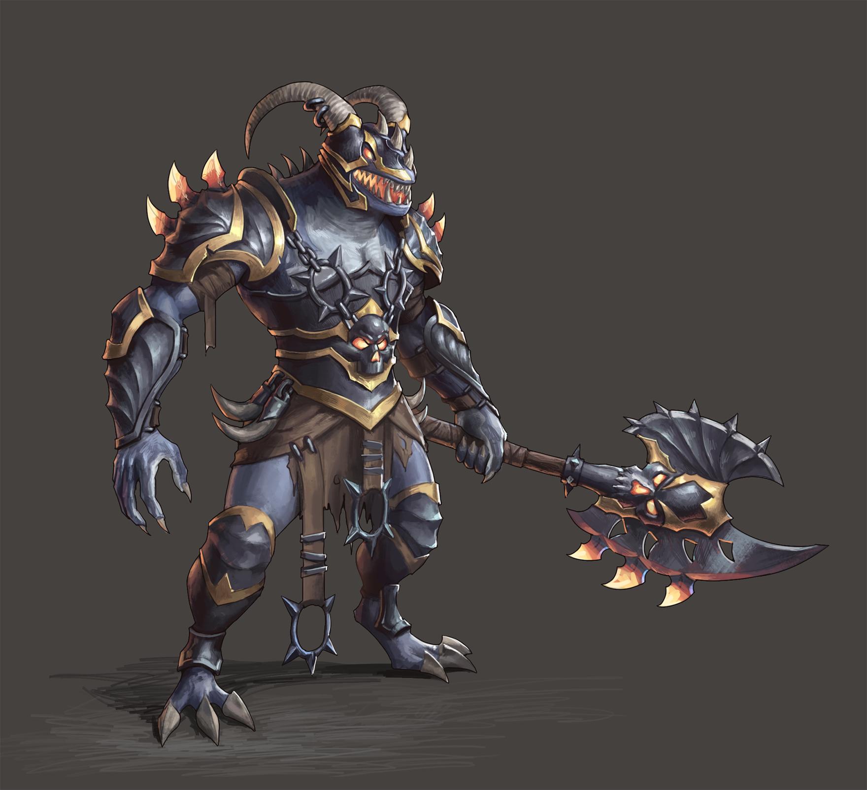 Warrior   2d художник/концепт-художник