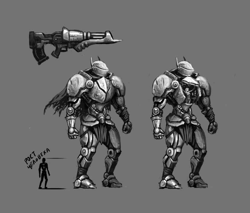 Concept2 | [Конкурс шутеров] Shadows of steel moons