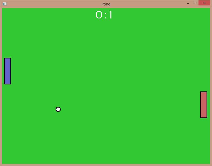 pong   Реализация игры Pong
