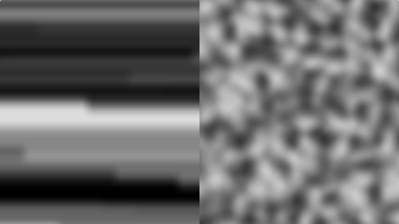 foxes noise (left) vs simplex noise (right) | Текстура планеты. Хотел как лучше...