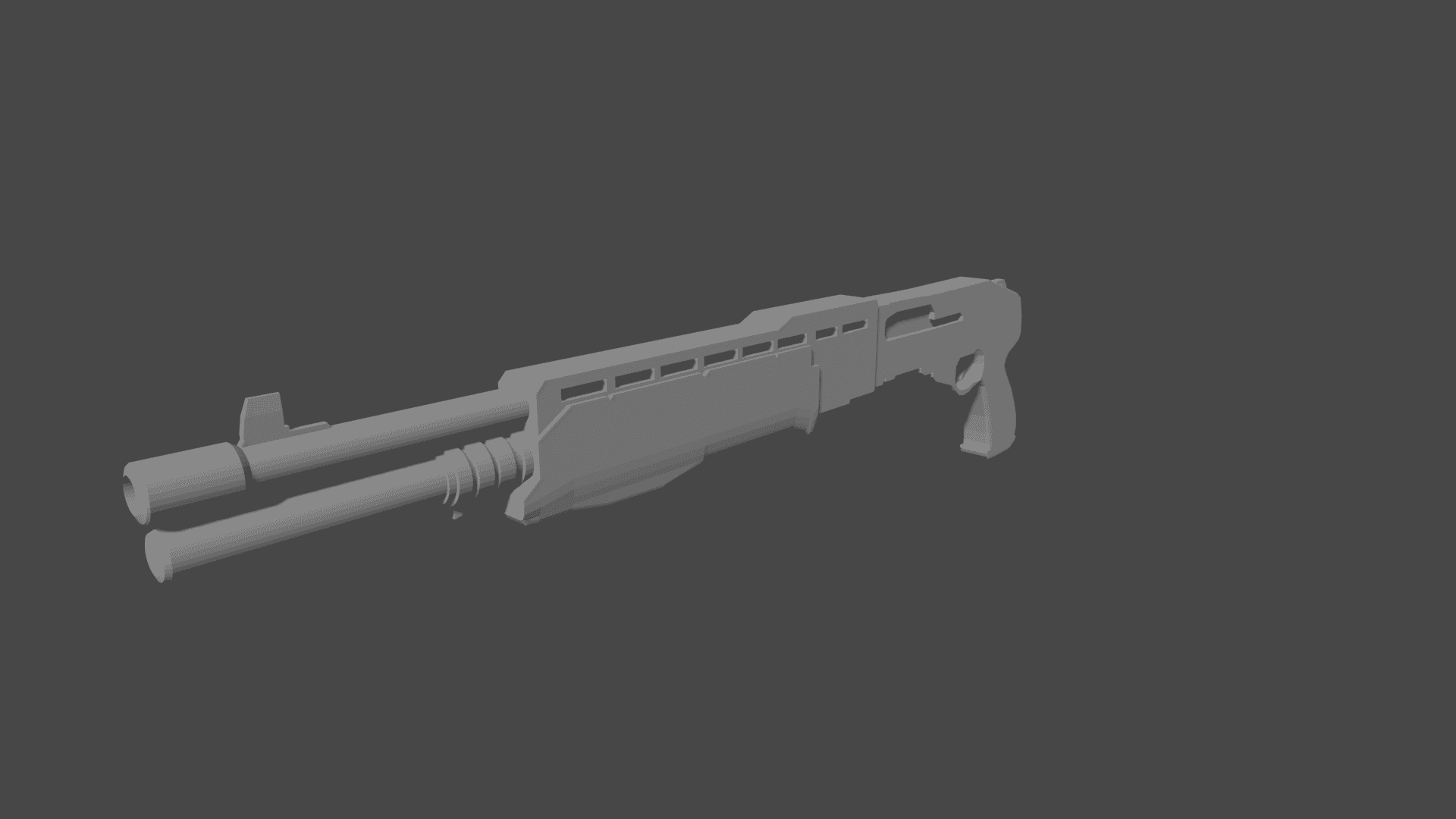 1 | Зацените мой SPAS-12 Shotgun и Sten Mk2