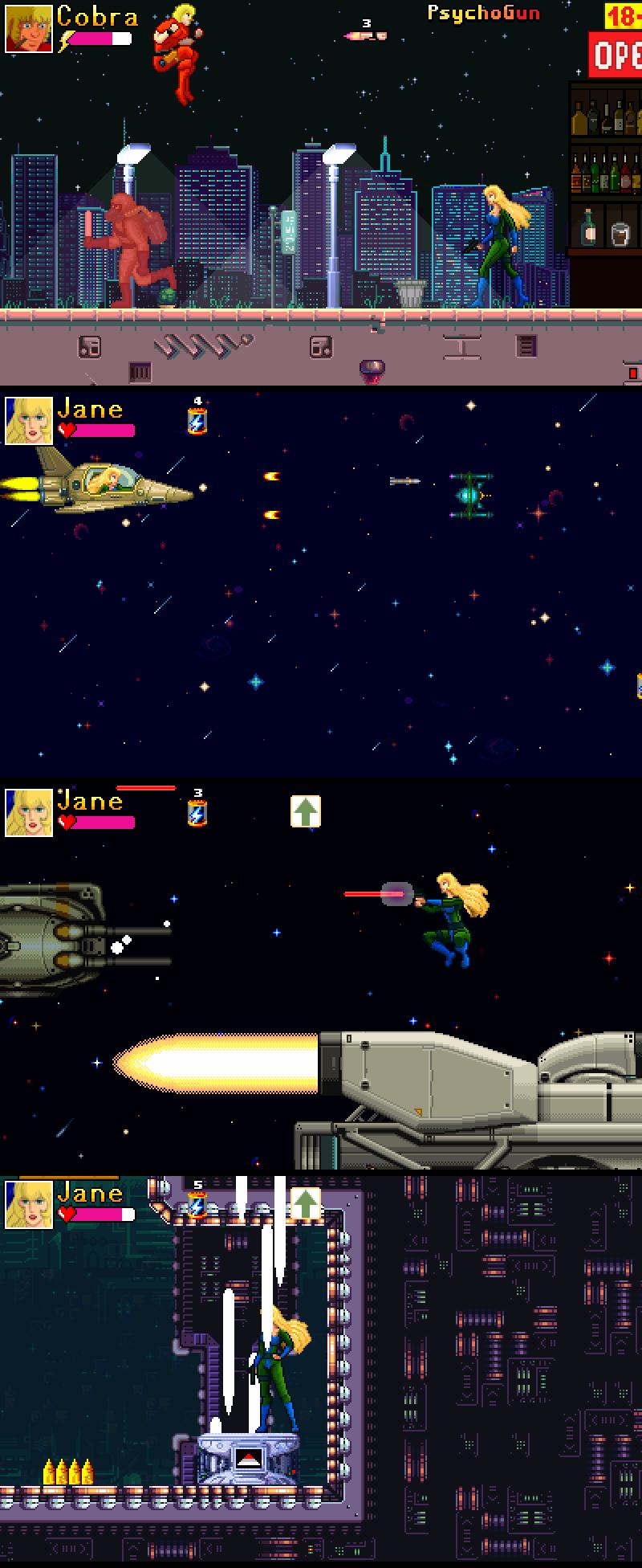 2x | Space Cobra RetPixMod
