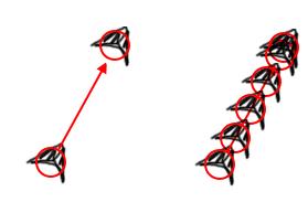 hits-demo | Как правильно сделать перемещение с Δt?