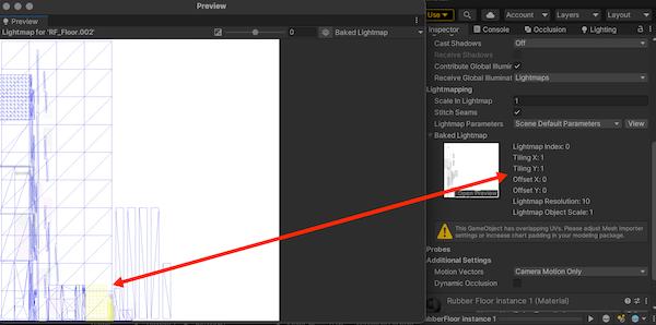 -- | Рендер lightmap coords в текстуру на Unity