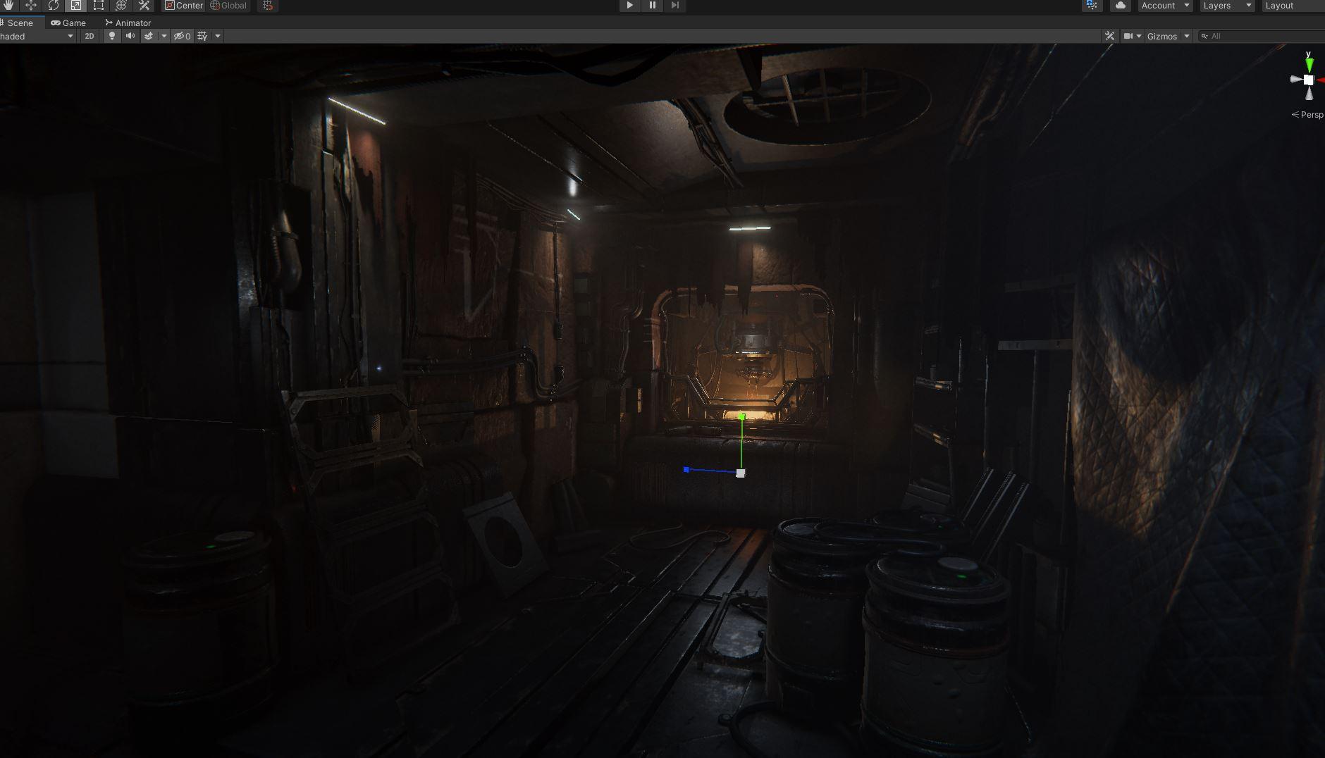 scrn | Dust Chamber : Бесконечная Структура, пыль, спуск в бездну