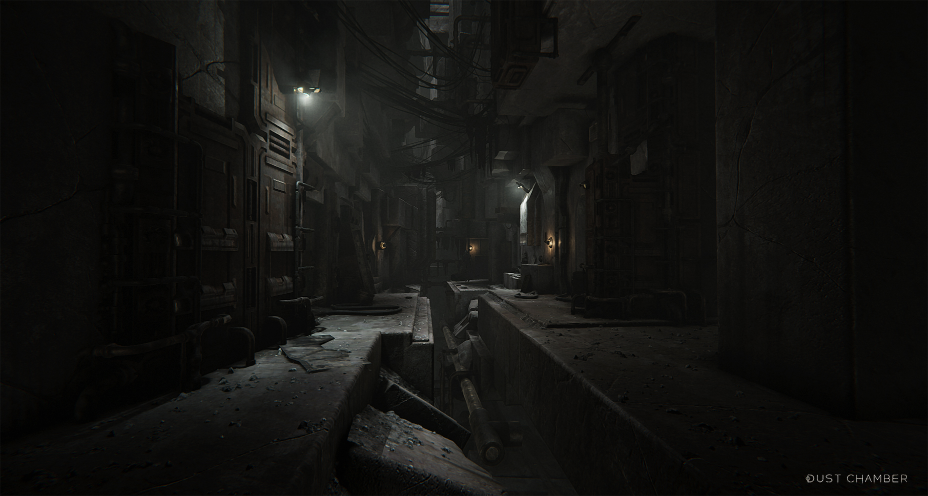 dark | Dust Chamber : Бесконечная Структура, пыль, спуск в бездну